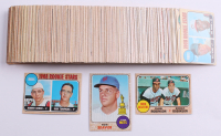 Lot of (175+) 1968 Topps Baseball Cards with #45 Tom Seaver, #530 Bird Belters / Brooks Robinson / Frank Robinson, #247 Rookie Stars / Johnny Bench RC / Ron Tompkins