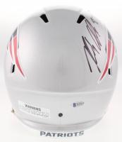 Rob Gronkowski Signed New England Patriots Full-Size Speed Helmet (Beckett COA) at PristineAuction.com