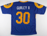 Todd Gurley Signed Jersey (Beckett COA) at PristineAuction.com