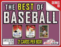 """""""The Best of Baseball"""" Box Series 10 – (21) CARDS PER BOX! at PristineAuction.com"""