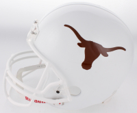 Vince Young Signed Texas Longhorns Full-Size Helmet (Young Hologram) at PristineAuction.com
