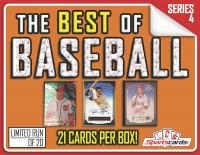 """The Best of Baseball"" Box Series 4 – (21) CARDS PER BOX!"
