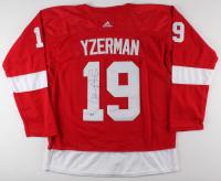 Steve Yzerman Signed Detroit Red Wings Jersey (Beckett COA)