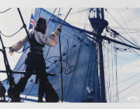 "Johnny Depp Signed ""Pirates of the Caribbean"" 11x14 Photo (JSA COA)"