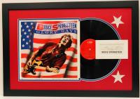 "Bruce Springsteen Signed ""Glory Days"" 18x26 Custom Framed Display (JSA LOA)"