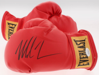 Mike Tyson Signed Everlast Boxing Gloves (JSA COA)