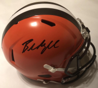 Baker Mayfield Signed Cleavland Browns Full-Size Speed Helmet (Beckett COA)