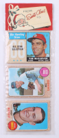 1968 Topps Baseball Unopened Christmas Rack Pack with (12) Cards