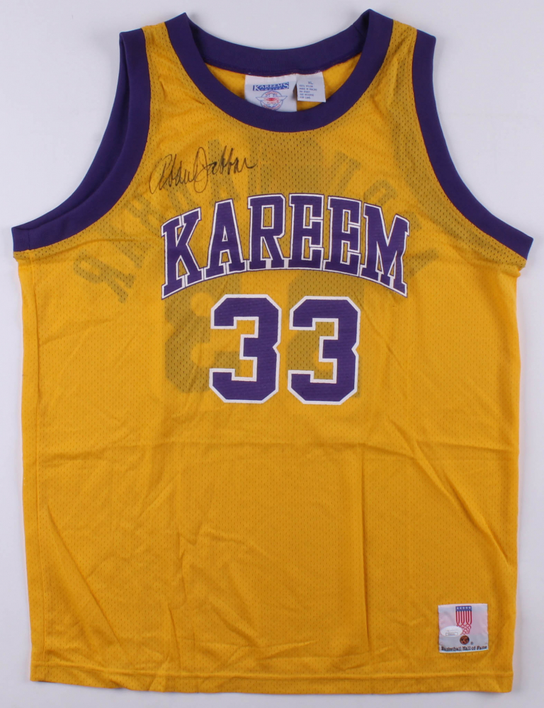 02f870af8 Kareem Abdul-Jabbar Signed Los Angeles Lakers Jersey (JSA COA) at  PristineAuction.