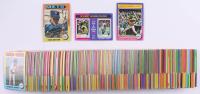 Lot of (320) 1975 Topps Baseball Cards with #370 Tom Seaver, #211 Reggie Jackson / Pete Rose MVP, #461 World Series Game 1 / Reggie Jackson