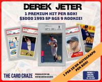 The Card Craze Derek Jeter Premium Baseball Card Mystery Box (1 Hit Per Box)