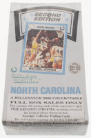 Factory Sealed North Carolina 2000 Collegiate Collection Second Edition Set of (288) Basketball Cards with Michael Jordan