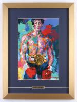 "LeRoy Neiman ""Rocky"" 14.5x19.5 Custom Framed Print Display"