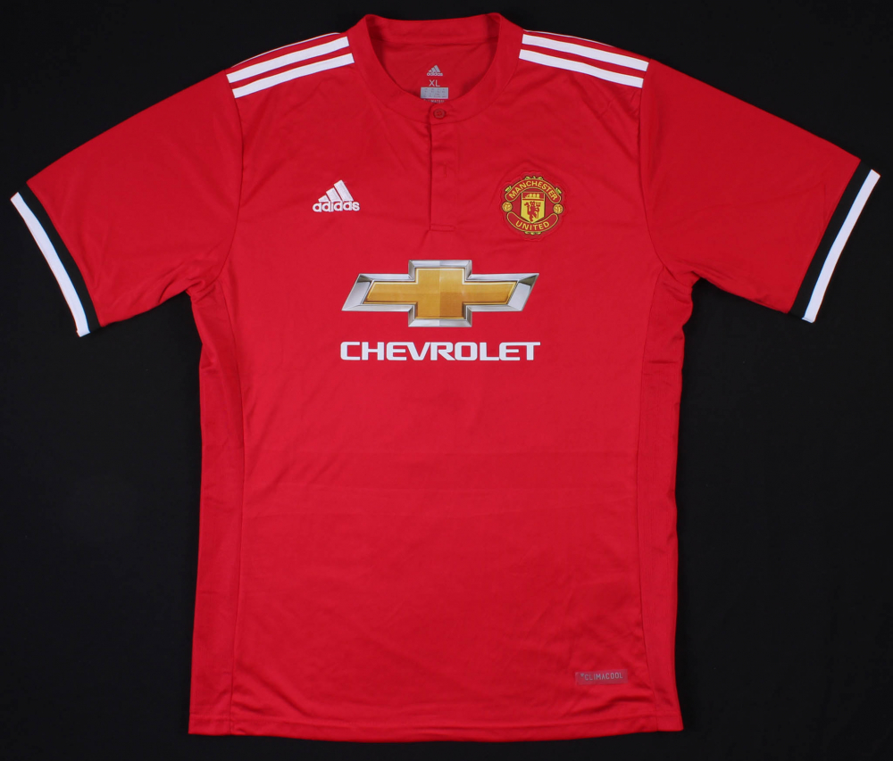 f63330452ec Wayne Rooney Signed Manchester United Adidas Jersey (Beckett COA) at  PristineAuction.com