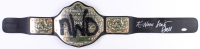 "Scott Hall & Kevin Nash Signed WWE ""New World Order"" Belt (JSA COA)"