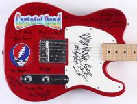 Grateful Dead Full-Size Electric Guitar Signed by (5) with Bob Weir, Bob Weir, Bill Kreutzmann, Phil Lesh & Tom Constanten With Extensive Inscriptions (JSA LOA)