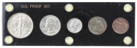 1942 United States Proof Set with (5) Coins