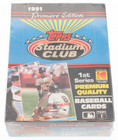 1991 Topps Stadium Club Premiere Edition Baseball Cards with (36) Packs