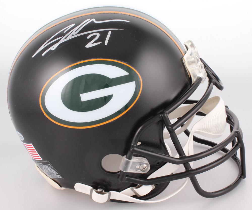 bd2533741 Charles Woodson Signed Green Bay Packers Custom Matte Black Full-Size  Authentic On-Field Helmet (Beckett COA)