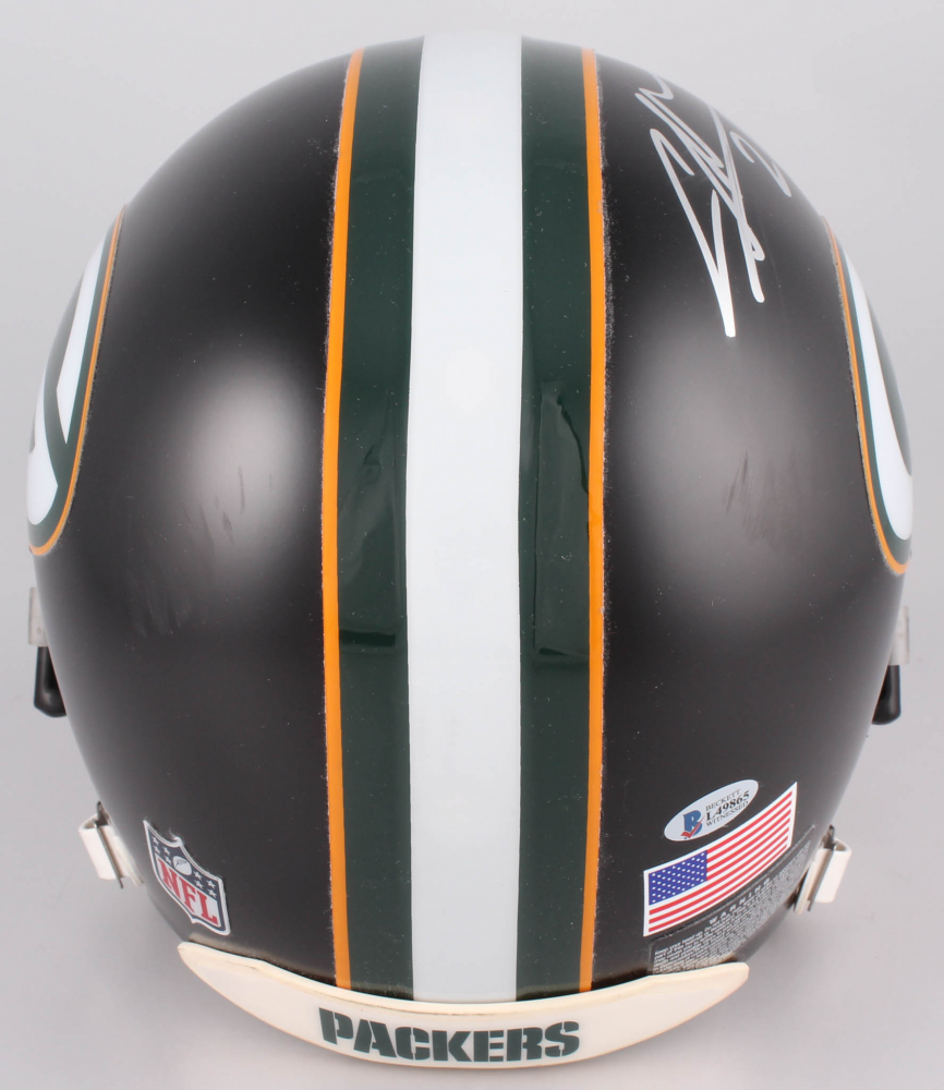 c3a89900d Charles Woodson Signed Green Bay Packers Custom Matte Black Full-Size  Authentic On-Field
