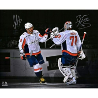 Alex Ovechkin & Braden Holtby Signed Washington Capitals 16x20 Limited Edition Photo (Fanatics Hologram) at PristineAuction.com
