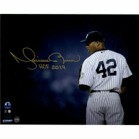 "Mariano Rivera Signed New York Yankees ""Stare Down"" 8x10 Photo Inscribed ""HOF 2019"" (Steiner COA) at PristineAuction.com"