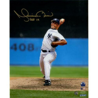 """Mariano Rivera Signed New York Yankees """"Vertical Pitching"""" 8x10 Photo Inscribed """"HOF 2019"""" (Steiner COA) at PristineAuction.com"""