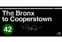 """Mariano Rivera Signed """"The Bronx to Cooperstown"""" 10x20 Photo Inscribed """"HOF 2019"""" (Steiner COA)"""