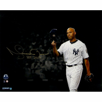 "Mariano Rivera Signed New York Yankees ""Hat Tip"" 16x20 Photo Inscribed ""HOF 2019"" (Steiner COA) at PristineAuction.com"