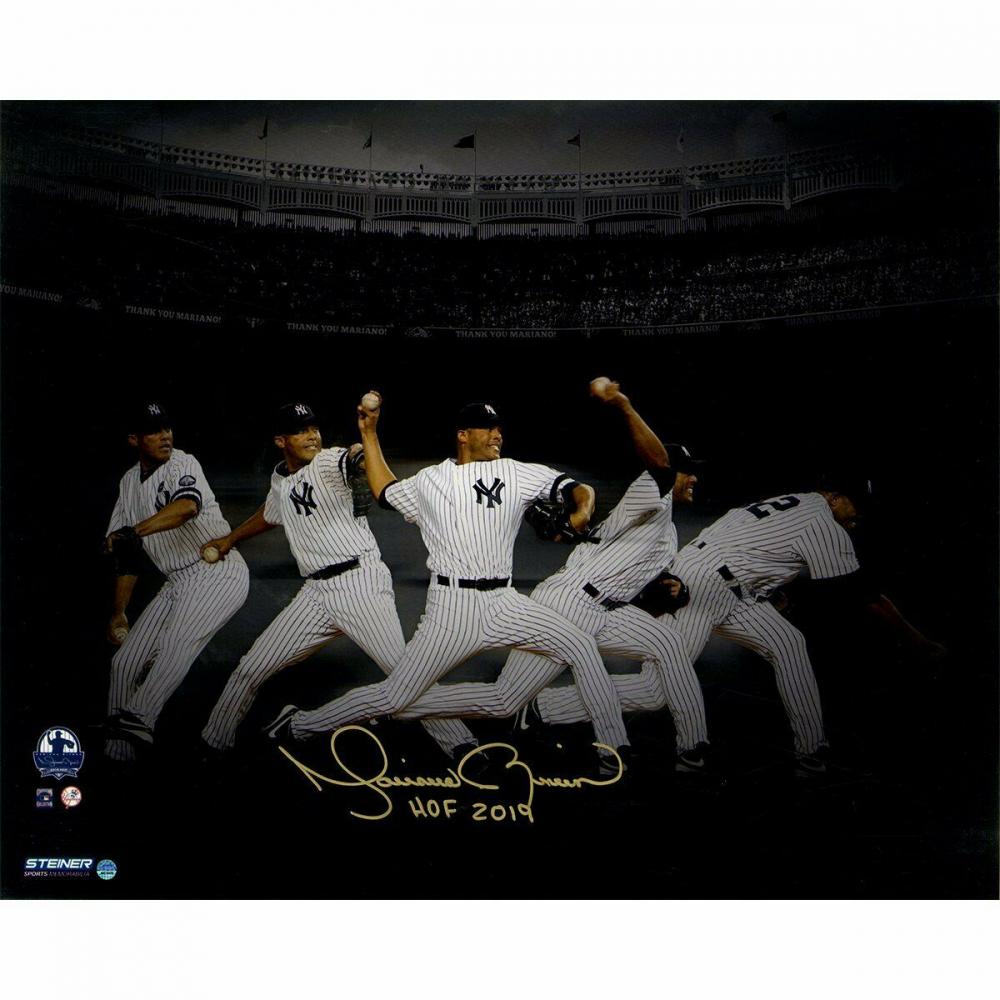 41c8340b662 Mariano Rivera Signed New York Yankees