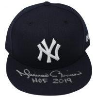 "Mariano Rivera Signed New York Yankees  New Era Snapback Hat Inscribed ""HOF 2019"" (Steiner COA) at PristineAuction.com"