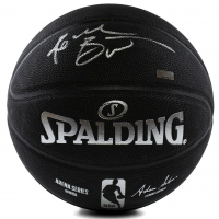 Kobe Bryant Signed LE NBA Black Basketball (Panini COA)