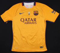 Lionel Messi Game-Used Barcelona Nike Jersey