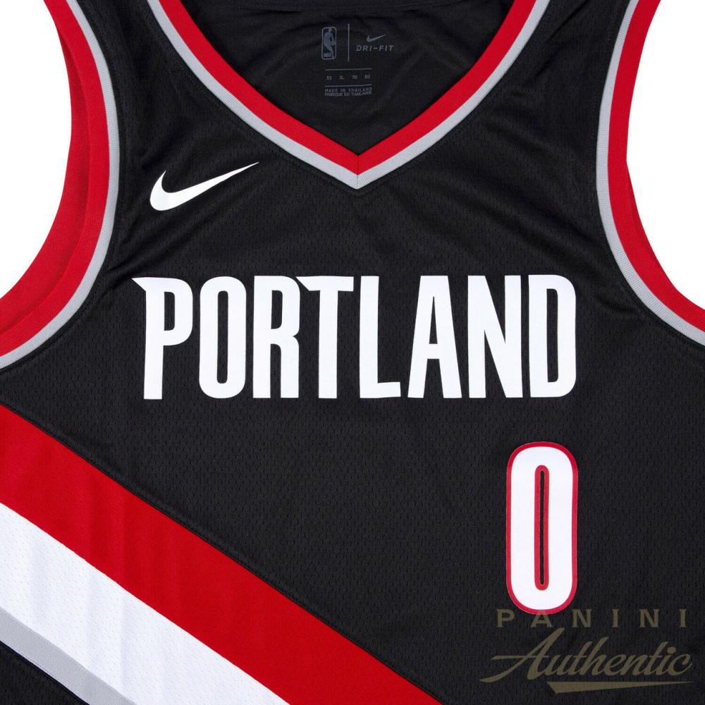 e9f9692ea Damian Lillard Signed LE Portland Trail Blazers Nike Jersey Inscribed