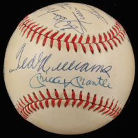 500 Home Run Club OAL Baseball Signed by (11) with Mickey Mantle, Ted Williams, Frank Robinson, Ernie Banks, Harmon Killebrew, Mike Schmidt (JSA LOA)