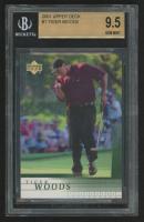 2001 Upper Deck #1 Tiger Woods RC (BGS 9.5)