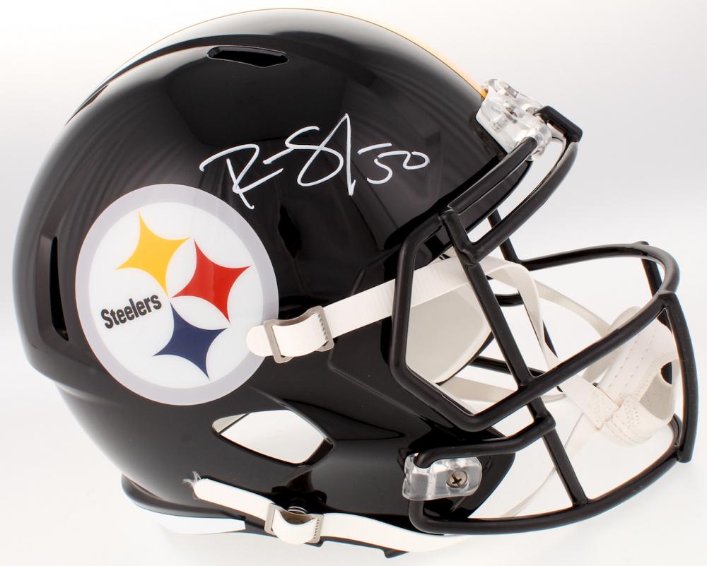 e5336cbb2 Ryan Shazier Signed Pittsburgh Steelers Full-Size Speed Helmet (TSE  Hologram)