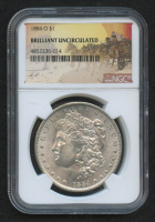 1884-O $1 Morgan Silver Dollar (NGC Brilliant Uncirculated)