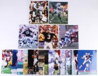 Lot of (20) Sports Hall of Famers 8x10 Photos with Jay Novacek, Dave Casper, Jim Plunkett, Doug Cosbie, Daryle Lamonica (Autograph Reference COA)