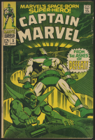 "Vintage 1968 ""Captain Marvel"" Issue #3 Marvel Comic Book"