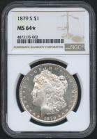 1879 $1 Morgan Silver Dollar (NGC MS 64*)