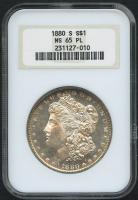 1880-S $1 Morgan Silver Dollar (NGC MS 65 PL)