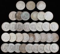 Lot of (35) 1964 Kennedy Half Dollars