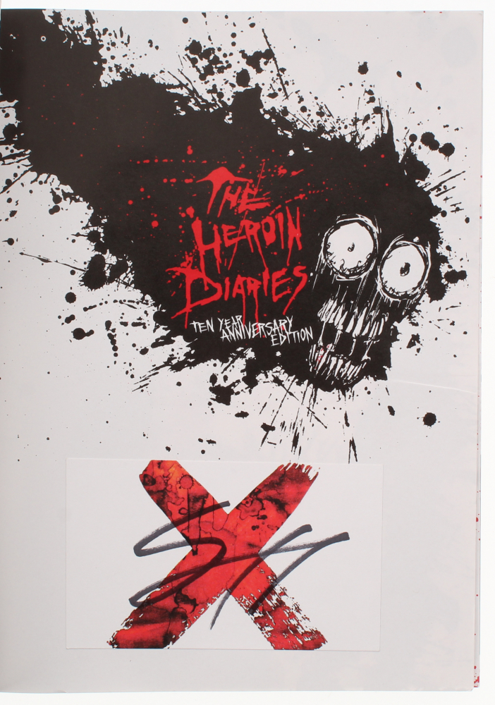 "Lot of (2) Nikki Sixx Signed ""The Heroin Diaries: Ten Year"