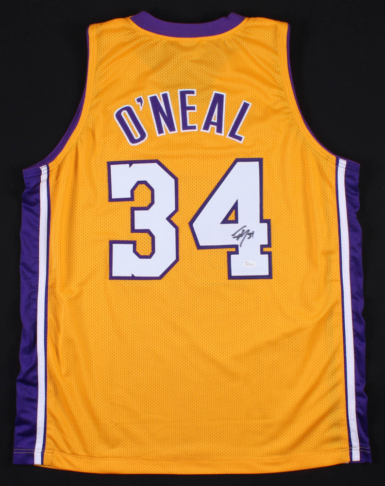 570dae38 Shaquille O'Neal Signed Los Angeles Lakers Jersey (JSA COA)