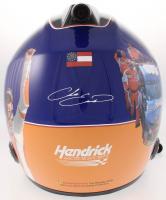 Chase Elliott Signed NASCAR First Win Limited Edition Full-Size Helmet #/228 (Elliott COA) at PristineAuction.com