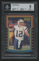 2000 Bowman #236 Tom Brady RC (BGS 9)
