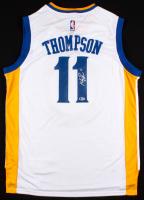 Klay Thompson Signed Golden State Warriors Adidas Jersey (Beckett COA)