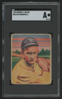 1933 George C. Miller R300 #21 Rabbit Maranville (SGC Authentic)