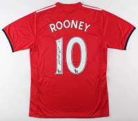 Wayne Rooney Signed Manchester United Jersey (Beckett COA) (Imperfect)